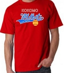 Wildkat Softball Classic Throwback Adult Tee